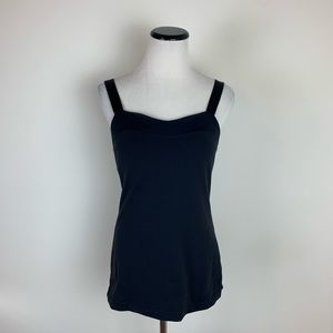 Lululemon Spaghetti Strap Workout Tank Top Black 6